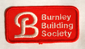 Burnley Building Society - Sew-on Patch