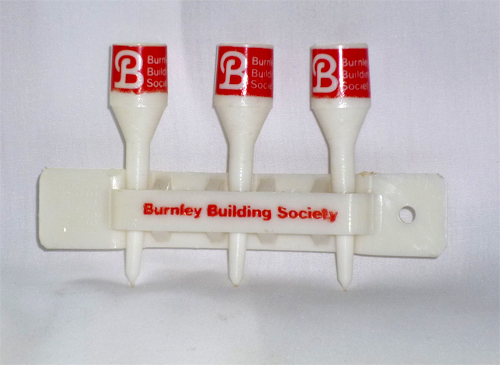 Burnley Building Society Golf Tees