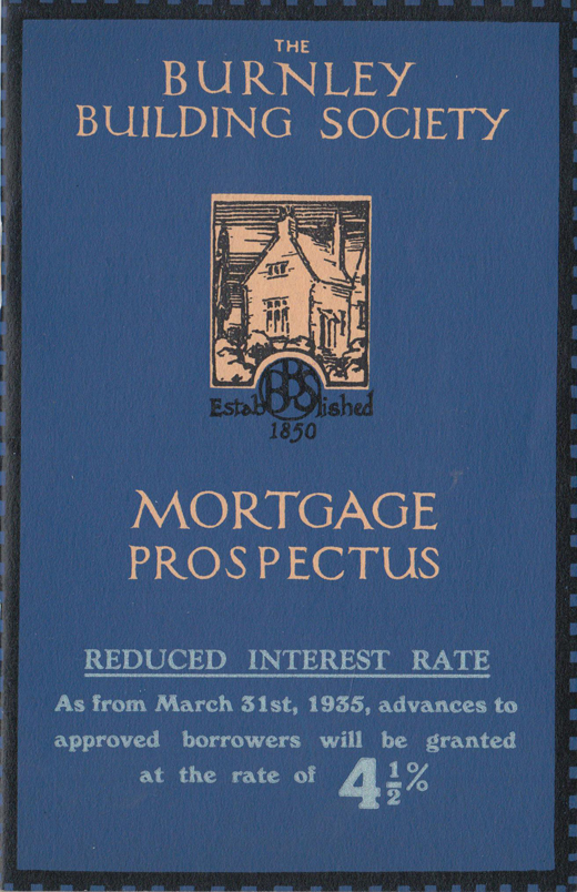 Burnley Building Society 1935 Mortgage Prospectus