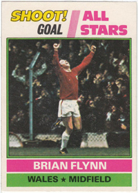 Burnley FC Card - Brian Flynn