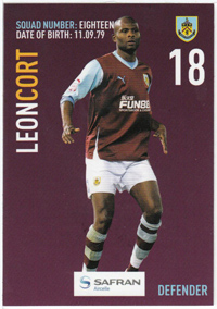 Burnley FC Card - Leon Cort