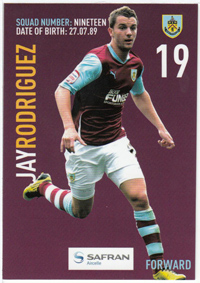 Burnley FC Card - Jay Rodruigez