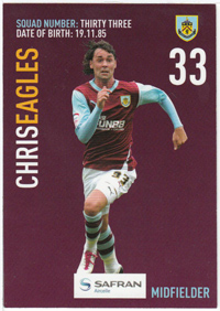 Burnley FC Card - Chris Eagles