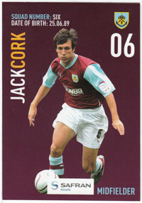 Burnley FC Card - Jack Cork