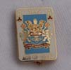 burnley badge - playing card