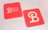 Burnley Building Society - Beer Mat