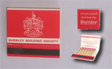 Burnley Building Society - Match Book