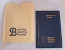 Burnley Building Society - Passbook and Cover